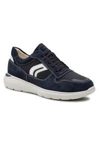 Geox Sneakersy U Sestiere C U029DC 02211 C4002 Granatowy. Kolor: niebieski