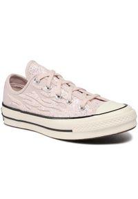 Converse Trampki Chuck 70 Ox 569537C Różowy. Kolor: różowy