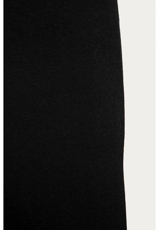 Czarne legginsy GAP z podwyższonym stanem
