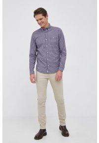 s.Oliver - s. Oliver - Koszula. Typ kołnierza: button down. Kolor: niebieski. Materiał: tkanina