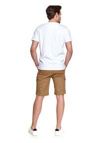 TOP SECRET - T-shirt z nadrukiem. Kolor: biały. Materiał: tkanina, bawełna. Długość rękawa: krótki rękaw. Długość: krótkie. Wzór: nadruk. Sezon: lato. Styl: wakacyjny #4