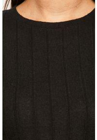 Czarny sweter TALLY WEIJL z okrągłym kołnierzem