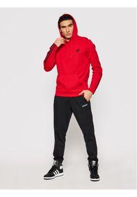 Adidas - adidas Bluza Essentials Double Knit GP8599 Czerwony Regular Fit. Kolor: czerwony