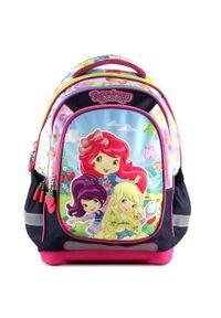 Strawberry Plecak szkolny truskawkowy, Plecak szkolny Princess. Kolor: czerwony