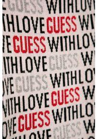 Szara sukienka Guess Jeans na co dzień, casualowa