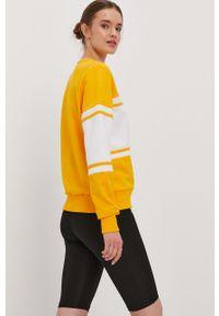 Żółta bluza Prosto. casualowa, na co dzień