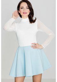 Niebieska spódnica Katrus