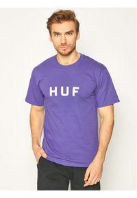 Fioletowy t-shirt HUF