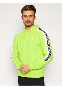 Fila Bluza Tefo 688815 Zielony Regular Fit. Kolor: zielony