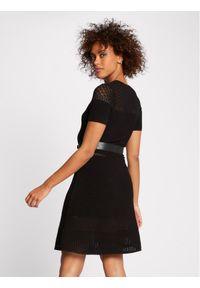 Czarna sukienka dzianinowa Morgan