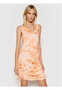 Rage Age Sukienka letnia Cassini 1 Pomarańczowy Slim Fit. Kolor: pomarańczowy. Sezon: lato