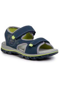 Niebieskie sandały Primigi na lato, klasyczne