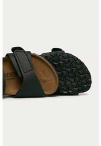 Czarne sandały Birkenstock na rzepy