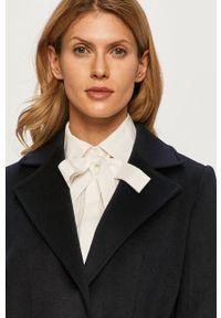 Niebieski płaszcz MAX&Co. klasyczny, bez kaptura