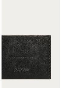 Czarny portfel Strellson