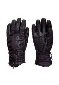 Czarna rękawiczka sportowa Bogner narciarska, Primaloft