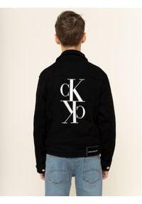 Calvin Klein Jeans Kurtka przejściowa Trucker Sust IU0IU00072 Czarny Regular Fit. Kolor: czarny #4