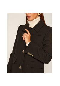 Czarny płaszcz Michael Kors