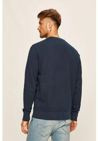 Levi's® - Levi's - Bluza. Okazja: na spotkanie biznesowe, na co dzień. Kolor: niebieski. Materiał: dzianina. Wzór: gładki. Styl: casual, biznesowy