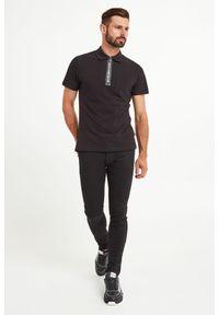 Versace Jeans Couture - POLO VERSACE JEANS COUTURE. Typ kołnierza: polo. Wzór: nadruk, jednolity. Styl: sportowy
