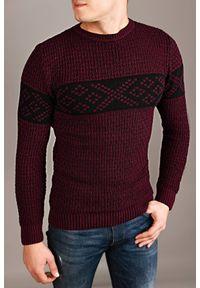 Czerwony sweter IVET na zimę