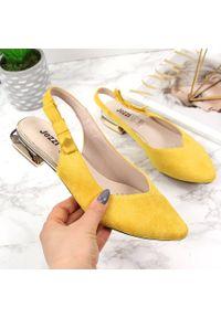 Żółte sandały Jezzi