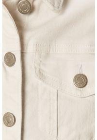 Biała kurtka Vila casualowa, bez kaptura, na co dzień