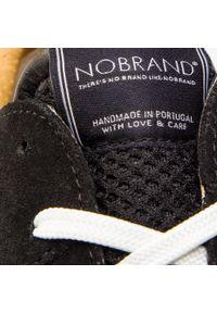 Czarne półbuty Nobrand na co dzień, eleganckie, z cholewką #6