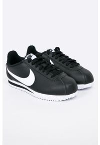 Czarne buty sportowe Nike Sportswear na średnim obcasie, na obcasie