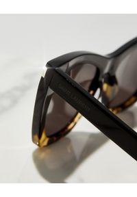 SAINT LAURENT - Okulary przeciwsłoneczne Kate. Kolor: brązowy