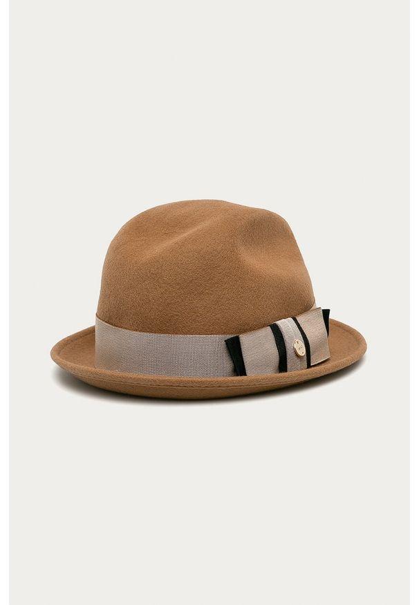 Brązowy kapelusz Liu Jo