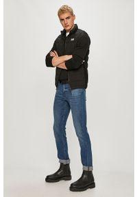 Czarny sweter TOMMY HILFIGER na co dzień, z długim rękawem, casualowy