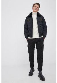 C.P. Company - Spodnie. Okazja: na co dzień. Kolor: czarny. Styl: casual
