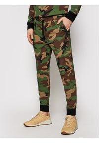 Polo Ralph Lauren Spodnie dresowe Pnt 710828121001 Zielony Regular Fit. Kolor: zielony. Materiał: dresówka