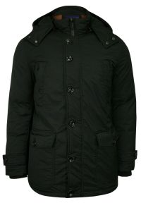 Czarna kurtka Gustaff na zimę