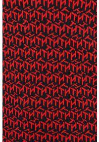 Czerwony sweter TOMMY HILFIGER na co dzień, z długim rękawem, długi