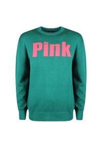"""Diesel Sweter """"K-Blakk"""". Okazja: na co dzień. Materiał: bawełna. Wzór: nadruk. Styl: casual"""