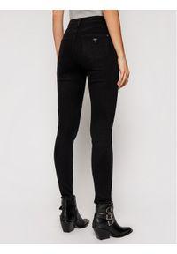 Guess Jeansy Skinny Fit Ultimate W1RA94 D4B22 Czarny Skinny Fit. Kolor: czarny
