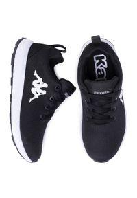 Kappa - Sneakersy KAPPA - Banjo 1.2 242703 Black/White 1110 1. Okazja: na co dzień. Kolor: czarny. Materiał: skóra ekologiczna, materiał. Szerokość cholewki: normalna. Styl: casual