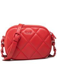 Torebka QUAZI - RX90029 Red. Kolor: czerwony. Materiał: skórzane