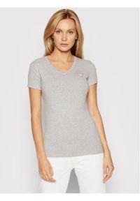 Guess T-Shirt Mini Triangle W1YI1A J1311 Szary Slim Fit. Kolor: szary