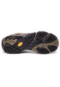Merrell - Trekkingi MERRELL - Moab 2 Ltr Gtx GORE-TEX J18427 Walnut. Kolor: brązowy. Materiał: skóra, zamsz, materiał. Szerokość cholewki: normalna. Technologia: Gore-Tex. Sport: turystyka piesza