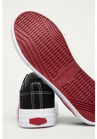 Cross Jeans - Tenisówki. Nosek buta: okrągły. Zapięcie: sznurówki. Kolor: czarny. Materiał: guma