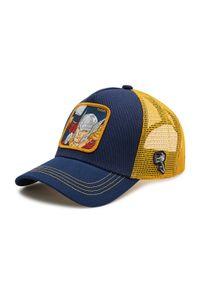 CapsLab - Czapka z daszkiem CAPSLAB - Trucker Marvel CL/MAR/1/THO1 Granatowy. Kolor: niebieski. Materiał: materiał, bawełna, poliester. Wzór: motyw z bajki