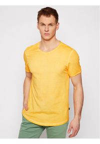JOOP! Jeans - Joop! Jeans T-Shirt 15 Jjj-06Clark 30019650 Żółty Modern Fit. Kolor: żółty