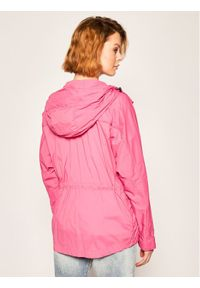Blauer Parka Cameron Large Sleeve Unlied 20SBLDC04090 005250 Różowy Slim Fit. Kolor: różowy