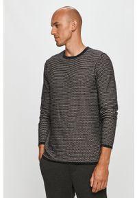 Czarny sweter Only & Sons z długim rękawem, casualowy, na co dzień