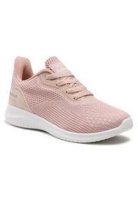 Refresh - Sneakersy REFRESH - 72940 Nude. Okazja: na co dzień. Kolor: różowy. Materiał: skóra ekologiczna, materiał. Szerokość cholewki: normalna. Styl: casual