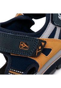 Niebieskie sandały Sergio Bardi Young na lato