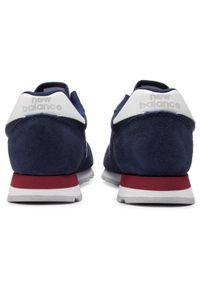 Niebieskie sneakersy New Balance z cholewką